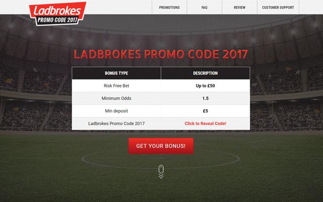 Ladbrokes Promo